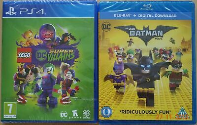 AU45.44 • Buy Lego DC Super Villains Game And Film Double Pack PS4 Video Game