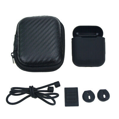 AU9.71 • Buy For Apple Airpods Accessories Set Bundle With Soft Case Storage Bag Strap