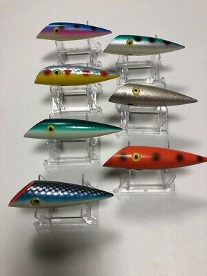 $ CDN250 • Buy 7 Vintage 1960's 4  Lyman Lures Kelowna, BC Stamped Lot 3