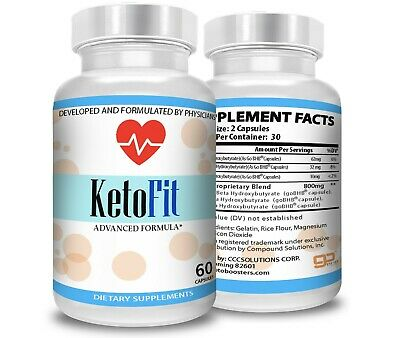 $16.40 • Buy Best Keto Fit Advanced  Instant Weight Loss  Pure Keto Fast Boost Bhb
