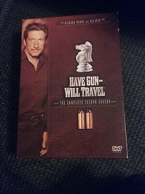 $6 • Buy Have Gun Will Travel - The Complete Second Season 2 - DVD - Excellent!