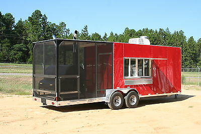 2020 Barbeque Concession Trailer / Mobile Kitchen - DELUXE MODEL • 37,460.95$