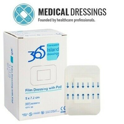 £5.93 • Buy 365 Transparent Absorbent Island Wound Dressings | All Sizes | Trusted UK Seller