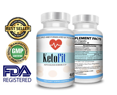 $18.50 • Buy Sale Keto Fit Advanced  Instant Weight Loss  Pure Ultra Fast Boost Bhb Ketosis