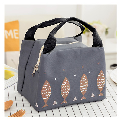 AU12.95 • Buy Portable Thermal Insulated Cooler Waterproof Picnic Lunch Box Storage Bag Pouch
