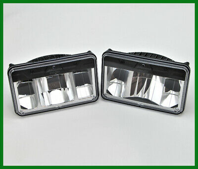 $150.75 • Buy Maxxima 4 X 6  Low & High Beam White LED Replacement Headlight -Set Of 2