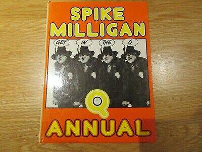 Get In The Q Annual By Milligan, Spike Hardback Book • 3.97£