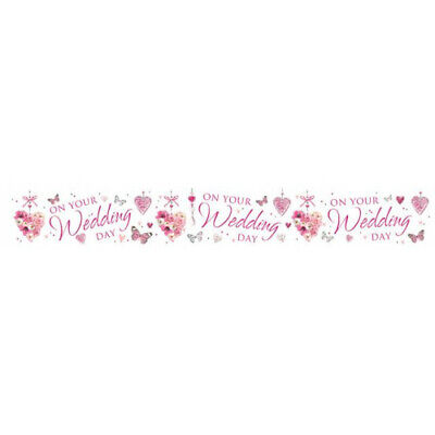 Simon Elvin On Your Wedding Day 2.5m Banner £1.99 Multi-buy Offer • 1.99£