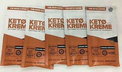 $34.93 • Buy Pruvit Keto Coffee Kreme Caramel Macchiato 5 Packets - Functional Fat Ketosis