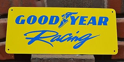 GOODYEAR RACING Tires SIGN High Performance NHRA TIRES • 18.95$