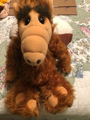 """Vintage ALF 1986 Alien Productions 18"""" Inch Plush Doll Stuffed Animal Coleco  • 13$"""