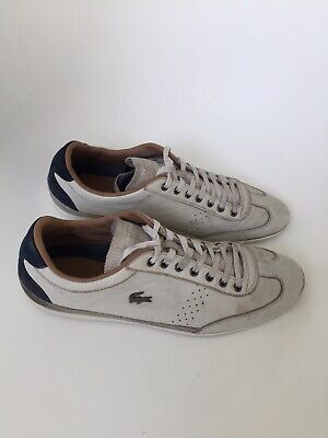 Lacoste Misano Leather Trainers Size 10 • 12£