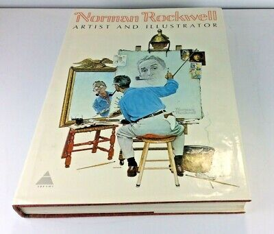 $ CDN31.32 • Buy Norman Rockwell Artist And Illustrator~ 1st Edition 1970 Giant Book Excellent