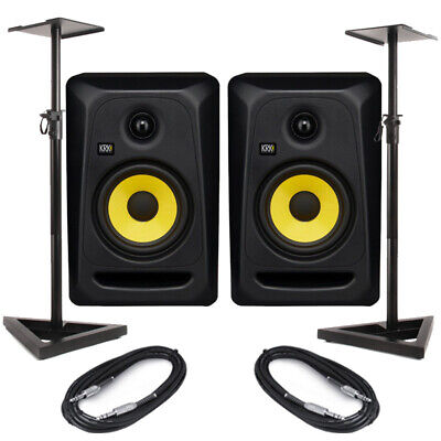 KRK Rokit Classic 5 (Pair) With Stands & Cables • 280£