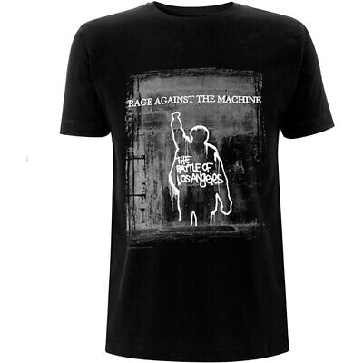 Rage Against The Machine 'BOLA Euro Tour' (Black) T-Shirt - NEW & OFFICIAL! • 13.29£
