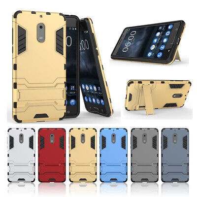 AU16.99 • Buy For Nokia 7.1 8.1 6.1 2 3 5 6 7 8 Shockproof Hybrid Slim Armor Stand Case Cover