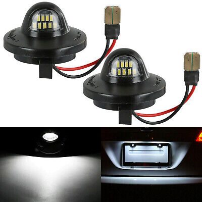 $11.99 • Buy 2Pcs LED License Plate Light Lamp Assembly Replacement For Ford F150 F250 F350