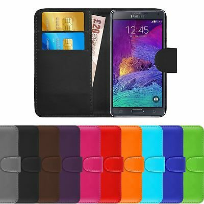 $ CDN5.14 • Buy Premium PU Leather Wallet Book Cover Flip Case Holder For Samsung Galaxy Note 8