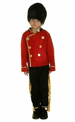 £14.29 • Buy Children Boys Buzby Royal Guard Costume Book Week Day Soldier Fancy Dress Outfit