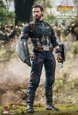 $ CDN427.43 • Buy Hot Toys Avengers 3: Infinity War - Captain America 1/6 Scale Figure MMS480