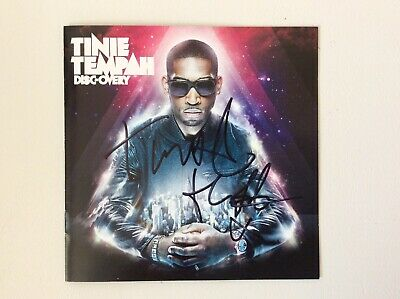 Tinie Tempah Signed DISC-OVERY Album With Proof  • 74.99£