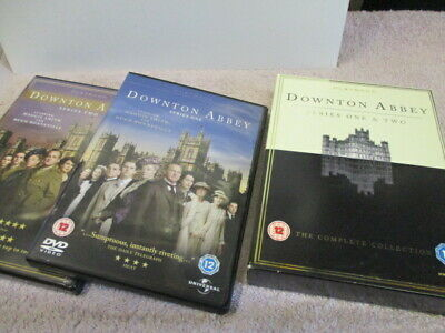 Downtown Abbey,series 1 & 2,7 Discs,maggie Smith,dvd,Superb! Free Post!! :) • 7.99£