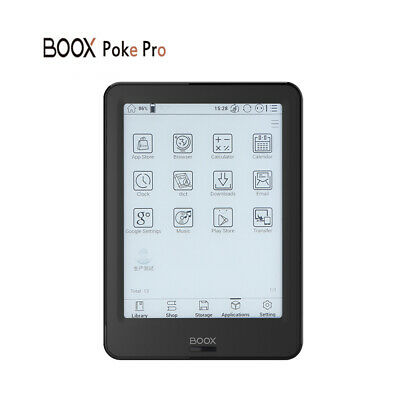 $215.45 • Buy Ebook Reader BOOX 6  Poke Pro 2G/16G Quad-Core BT&WiFi Tou-Ch E-Ink Android R9U7