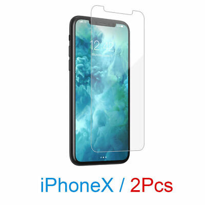 AU3.99 • Buy 2x NUGLAS Tempered Glass Screen Protector FOR APPLE IPhone X