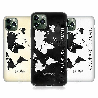 NATURE MAGICK ADVENTURE AWAITS WORLD MAP 2 SOFT GEL CASE FOR APPLE IPHONE PHONES • 10.95£