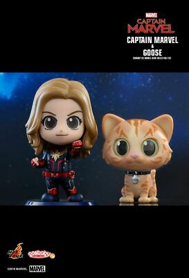 $ CDN46.27 • Buy Hot Toys Captain Marvel And Goose Cosbaby COSB541