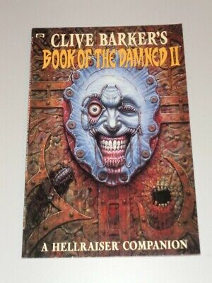 Book Of Damned Vol 2 By Clive Baker Hellraiser Companion (Paperback)< 0871358964 • 7.95£