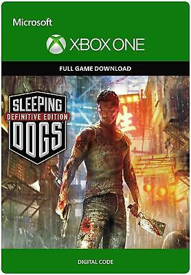 £7.89 • Buy Sleeping Dogs Definitive Edition Xbox One Full Game Key