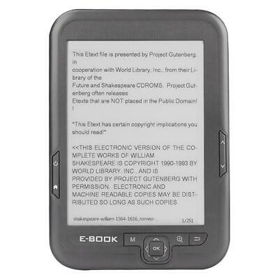 $90.47 • Buy Bk-6006 E-Book Reader 6 Inch E-Ink Screen Electronic Reader Support Multi Format
