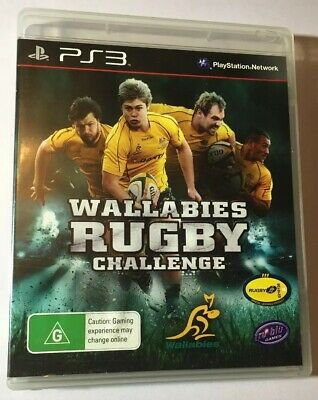 AU7.98 • Buy Wallabies Rugby Challenge Video Game For PS3 With Manual All Blacks USA ON SALE