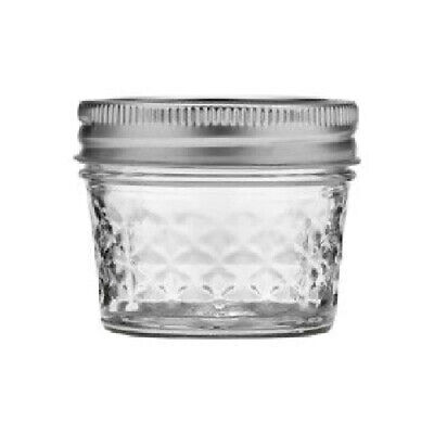 $18.58 • Buy Ball 1440080400 Quilted Crystal Glass Jelly Jars, 4 Oz, 12-Pack