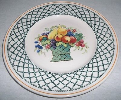 Villeroy & And Boch BASKET Salad / Dessert Plate 21cm EXCELLENT 2nd's • 16.99£