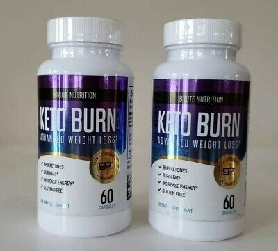 $14.49 • Buy Lot Of 2 Brute Nutrition - Keto Burn - Advanced Weight Loss, 60 Caps