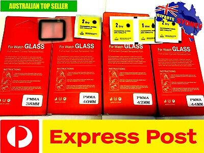 AU9.90 • Buy NEW Glass Screen Protector For Apple Watch Series IWatch 1 2 3 4 38/40/42/44mm