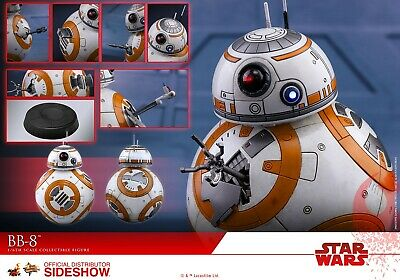 $85 • Buy Hot Toys BB-8 Star Wars The Last Jedi Sixth Scale Figure Mint Box Included