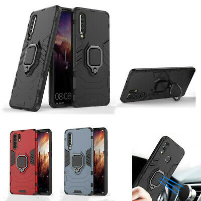 AU16.88 • Buy For Huawei Y9 Prime 2019 P20 P30 Lite Magnetic Holder Armor Hybrid Case Cover