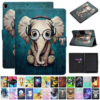 AU24.69 • Buy For Samsung Galaxy Tab 10.1  SM-T510 T515 2019 Pattern Leather Stand Case Cover