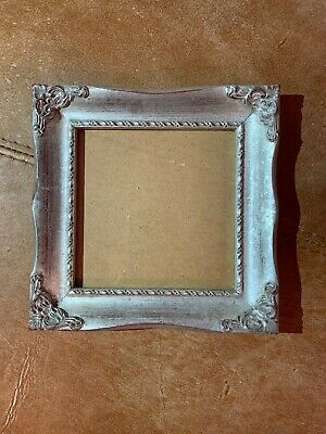 Beautiful Silver Gilt Square Photo Picture Hanging Frame Rococo Baroque Style • 17.99£