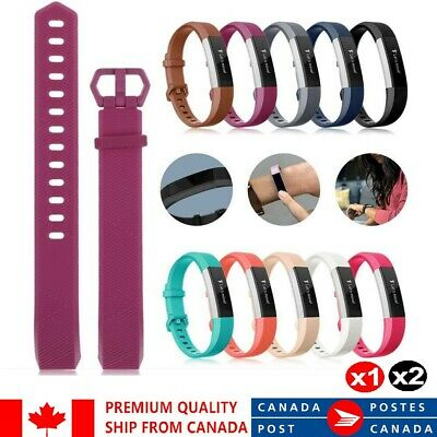 $ CDN7.55 • Buy For Fitbit Alta HR Ace Band Replacement Wrist Silicone Sport Watch S-L Strap 1/2