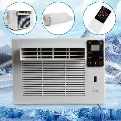 AU295.72 • Buy 1100W Window Air Conditioner Cooling & Heating Refrigerater Timer Portable 220v