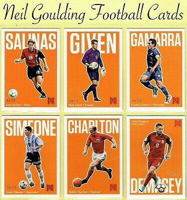 Panini NOBILITY SOCCER 2017 ☆ ORANGE PARALLEL ☆ Football Cards #/75 • 4.99£