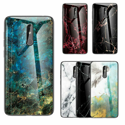 AU16.88 • Buy For Nokia 4.2 1Plus 7.1 8.1 X71 X7 Hybrid Marble Tempered Glass Back Case Cover