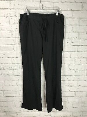 $11.99 • Buy Greys Anatomy By Barco Womens Black Scrubs Pants Size Large
