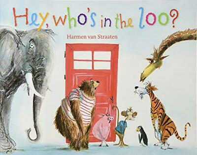 Hey, Who's In The Loo? By Van Straaten, Harmen, NEW Book, FREE & FAST Delivery,  • 6.14£