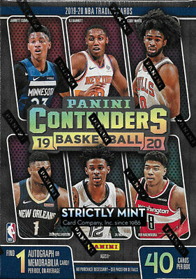 $39.99 • Buy 2019 2020 Panini CONTENDERS Box 1 AUTOGRAPH Or Memorabila Card Possible ZION Ja