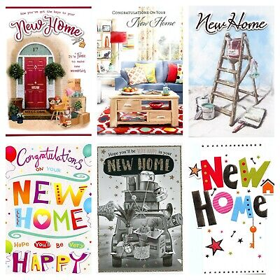 New Home Quality Cards 6 To Choose From. • 1.10£